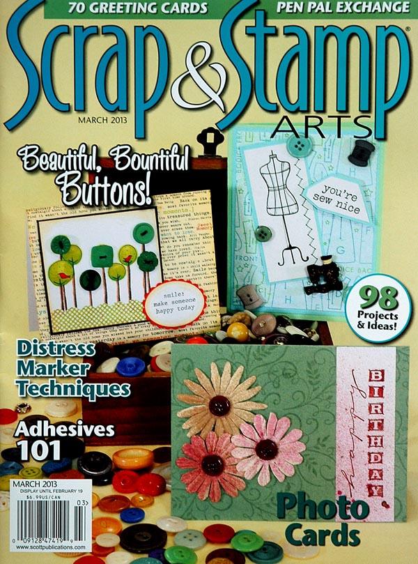 Scrap Stamp Cover